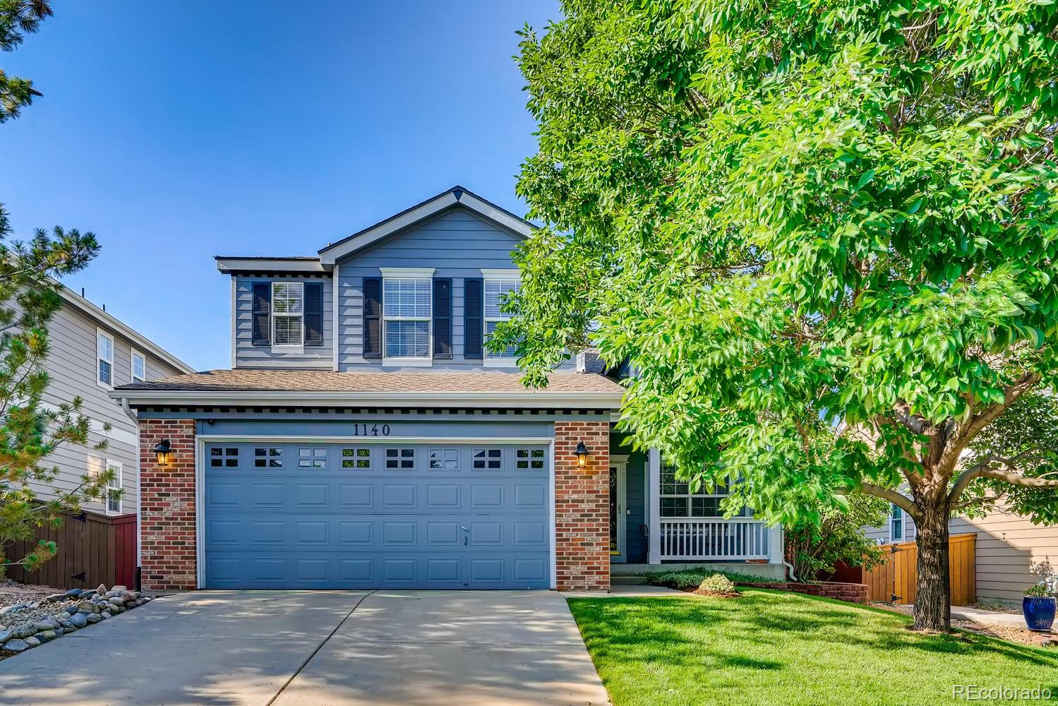 1140 Thornbury Place Property Photo - Highlands Ranch, CO real estate listing
