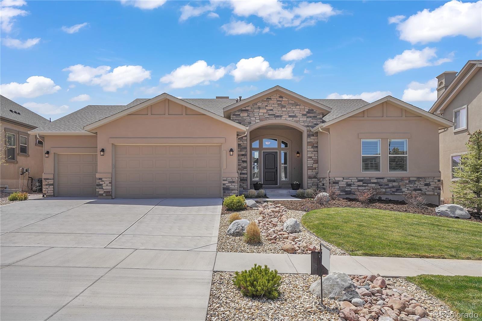 12458 Pensador Drive Property Photo - Colorado Springs, CO real estate listing