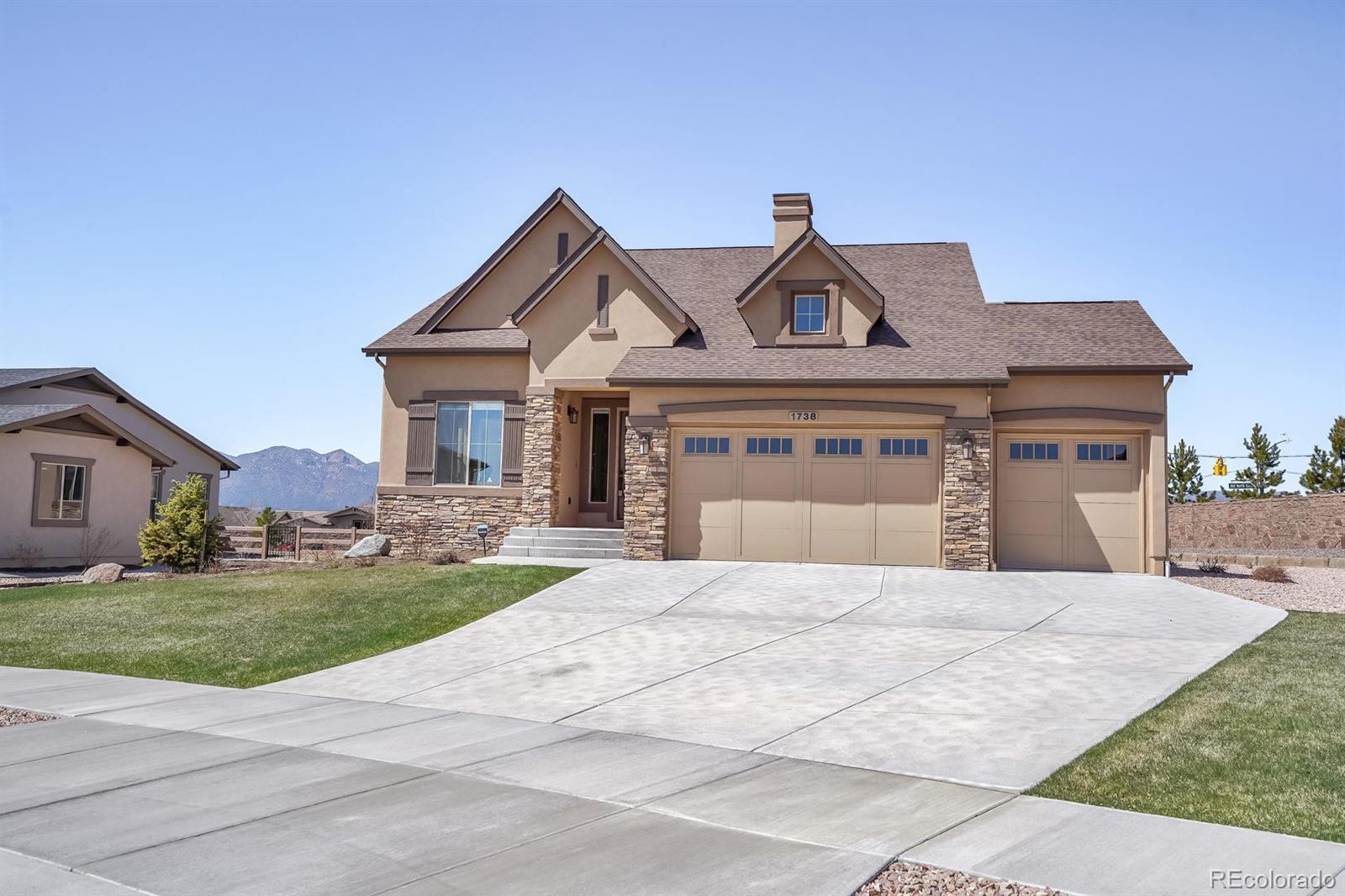 1738 Redbank Drive Property Photo - Colorado Springs, CO real estate listing