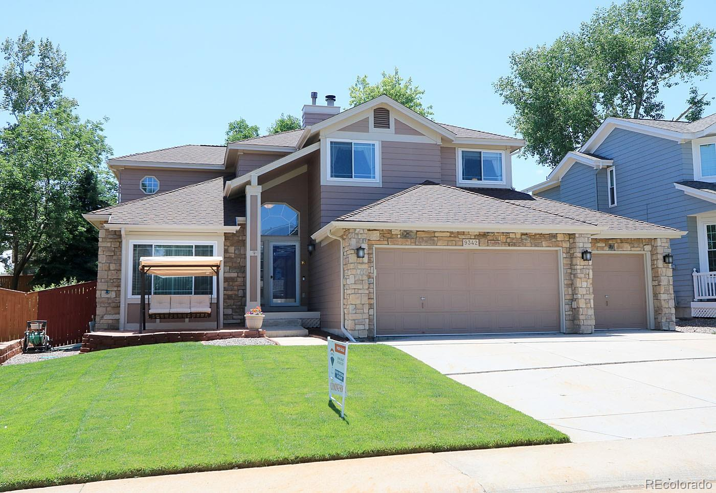 9342 Chambray Lane Property Photo - Highlands Ranch, CO real estate listing