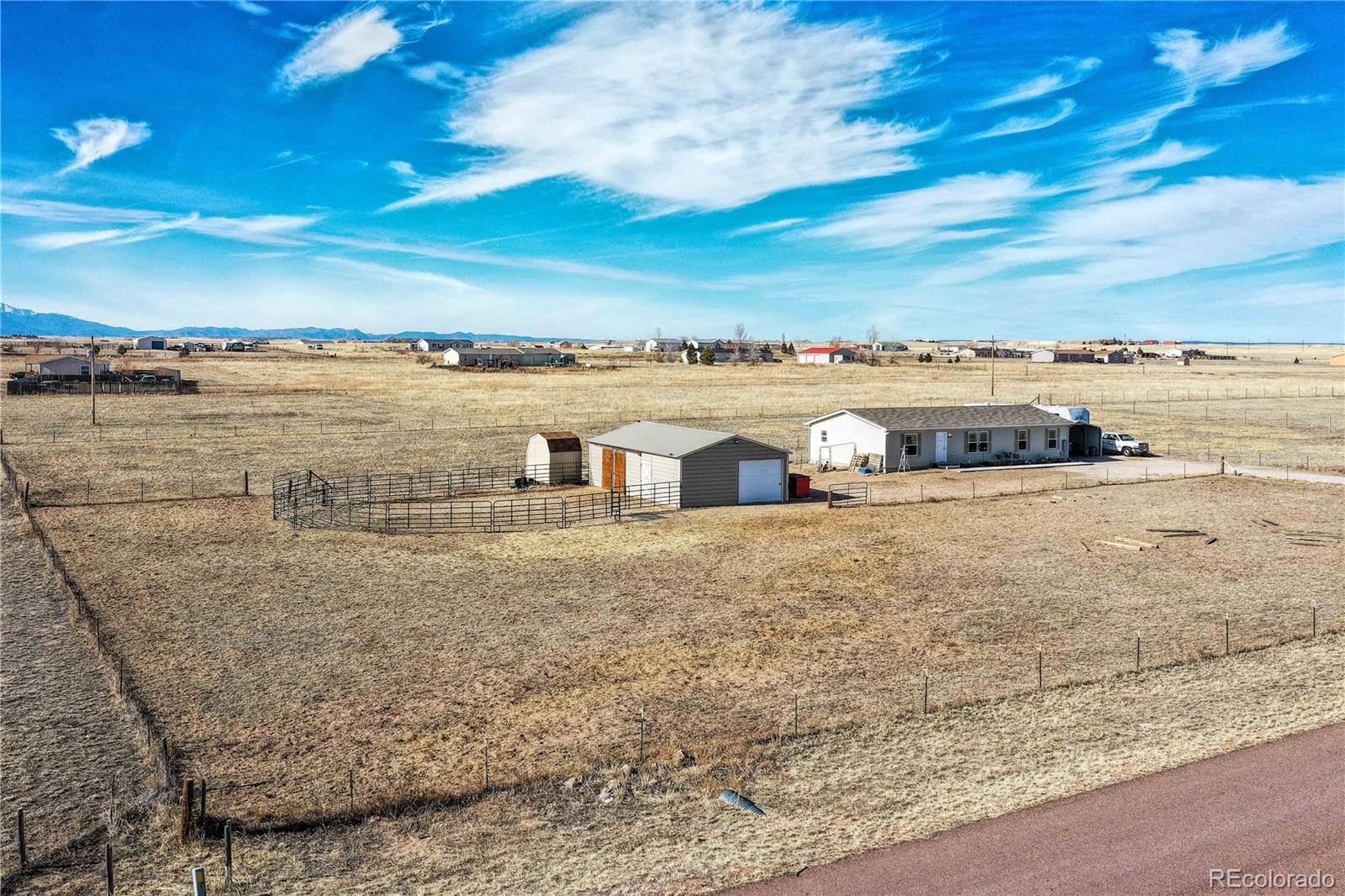 1134 Buffalo Run Road Property Photo - Calhan, CO real estate listing