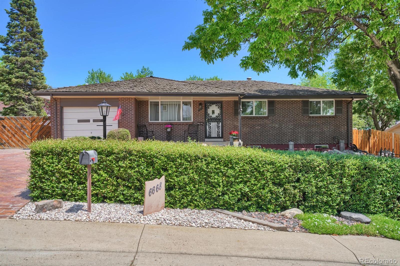 6668 Vivian Street Property Photo - Arvada, CO real estate listing