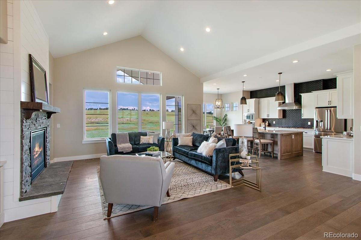 2705 Fox View Trail Property Photo - Franktown, CO real estate listing