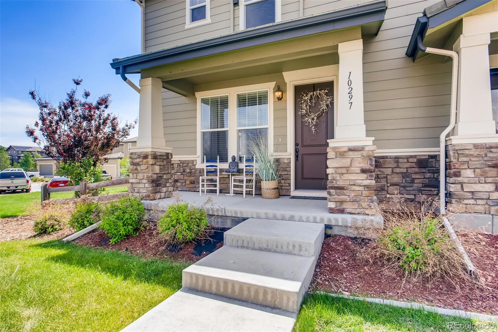 10297 Tall Oaks Circle Property Photo - Parker, CO real estate listing