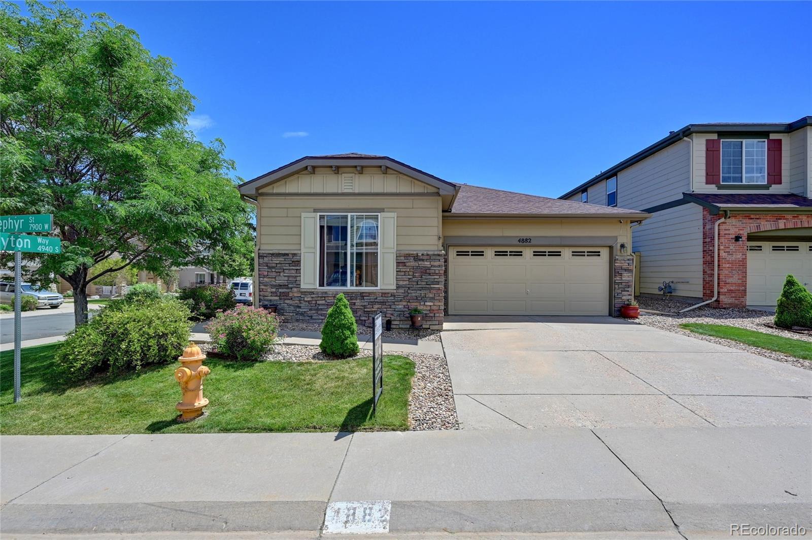 4882 S Zephyr Street Property Photo - Littleton, CO real estate listing