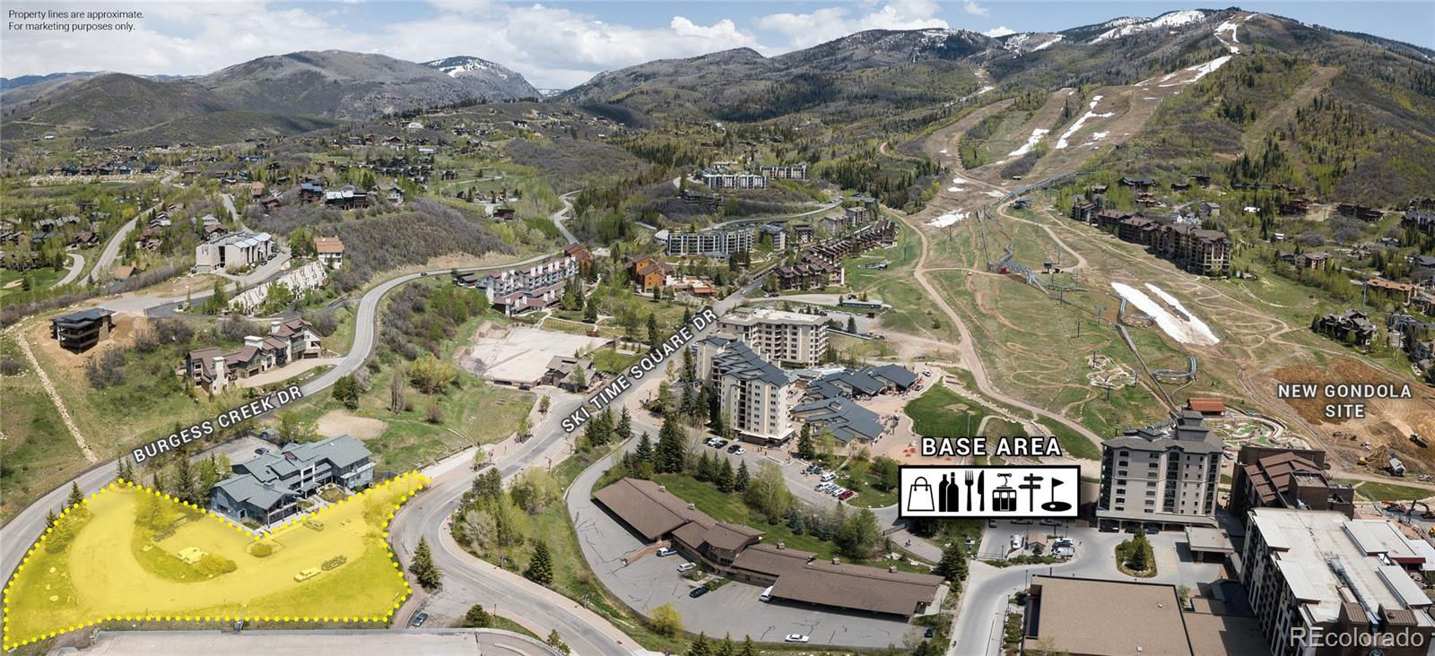 1.12 Acres Ski Time Square Drive Property Photo - Steamboat Springs, CO real estate listing