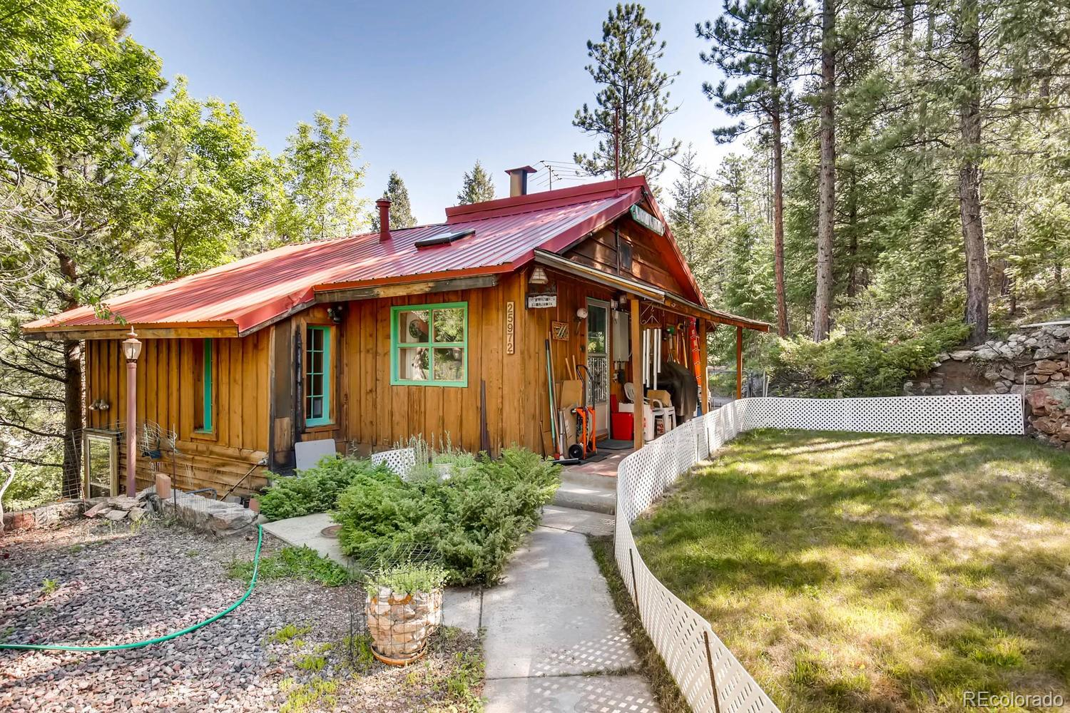 25993 Lines Lane Property Photo - Kittredge, CO real estate listing