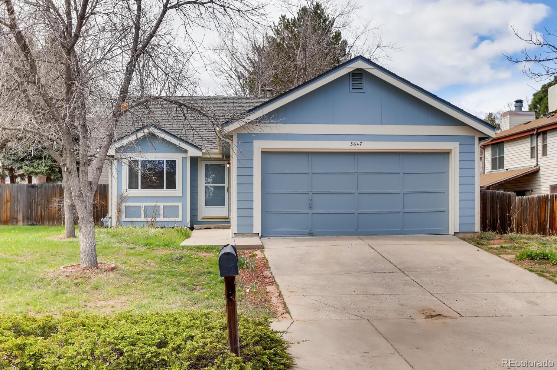 3647 S Richfield Street Property Photo - Aurora, CO real estate listing