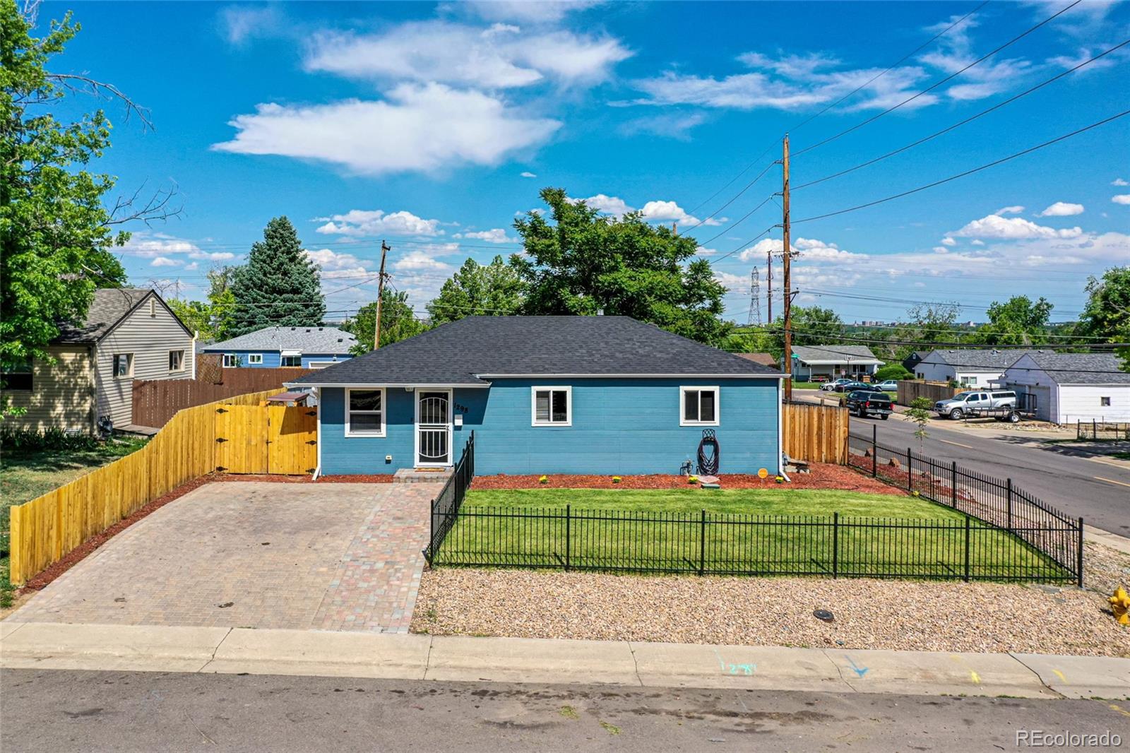 1298 S Raritan Street Property Photo - Denver, CO real estate listing