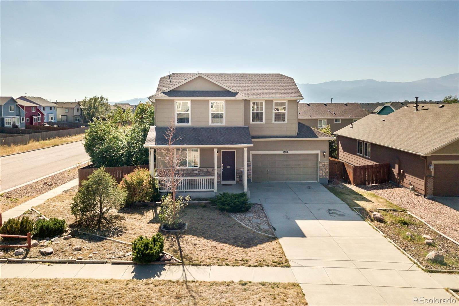 1804 Dewhirst Drive Property Photo - Colorado Springs, CO real estate listing
