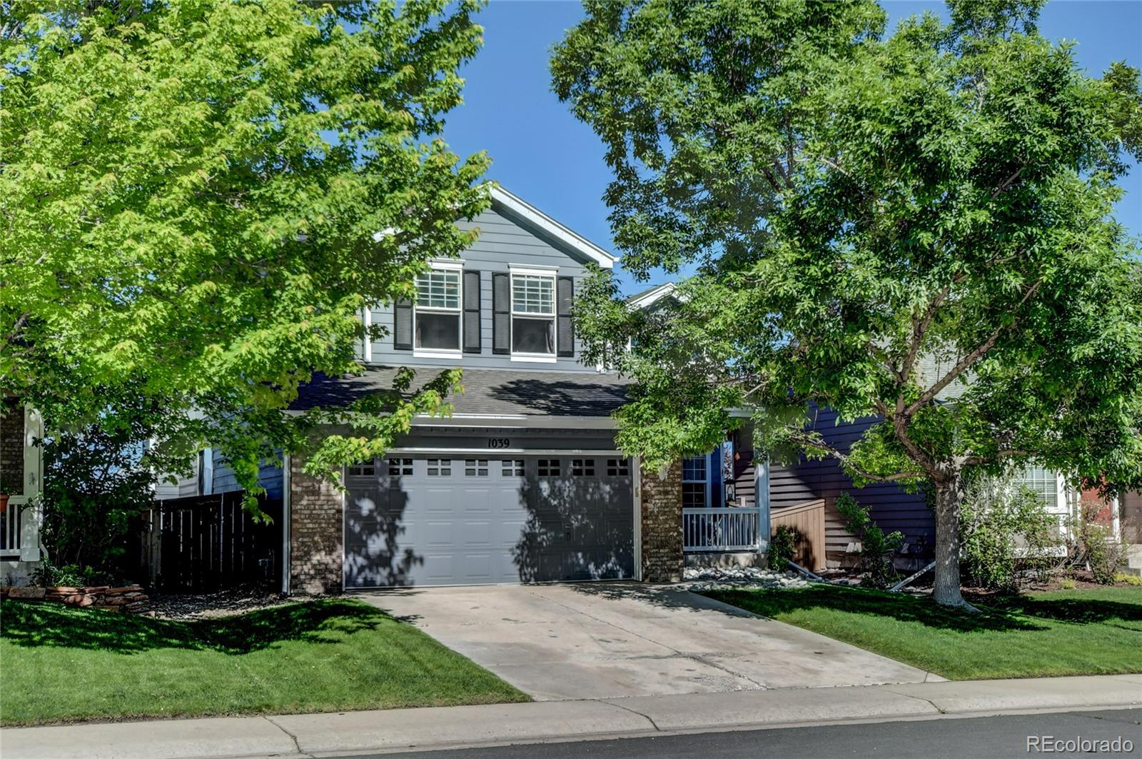 1039 Mulberry Lane Property Photo - Highlands Ranch, CO real estate listing