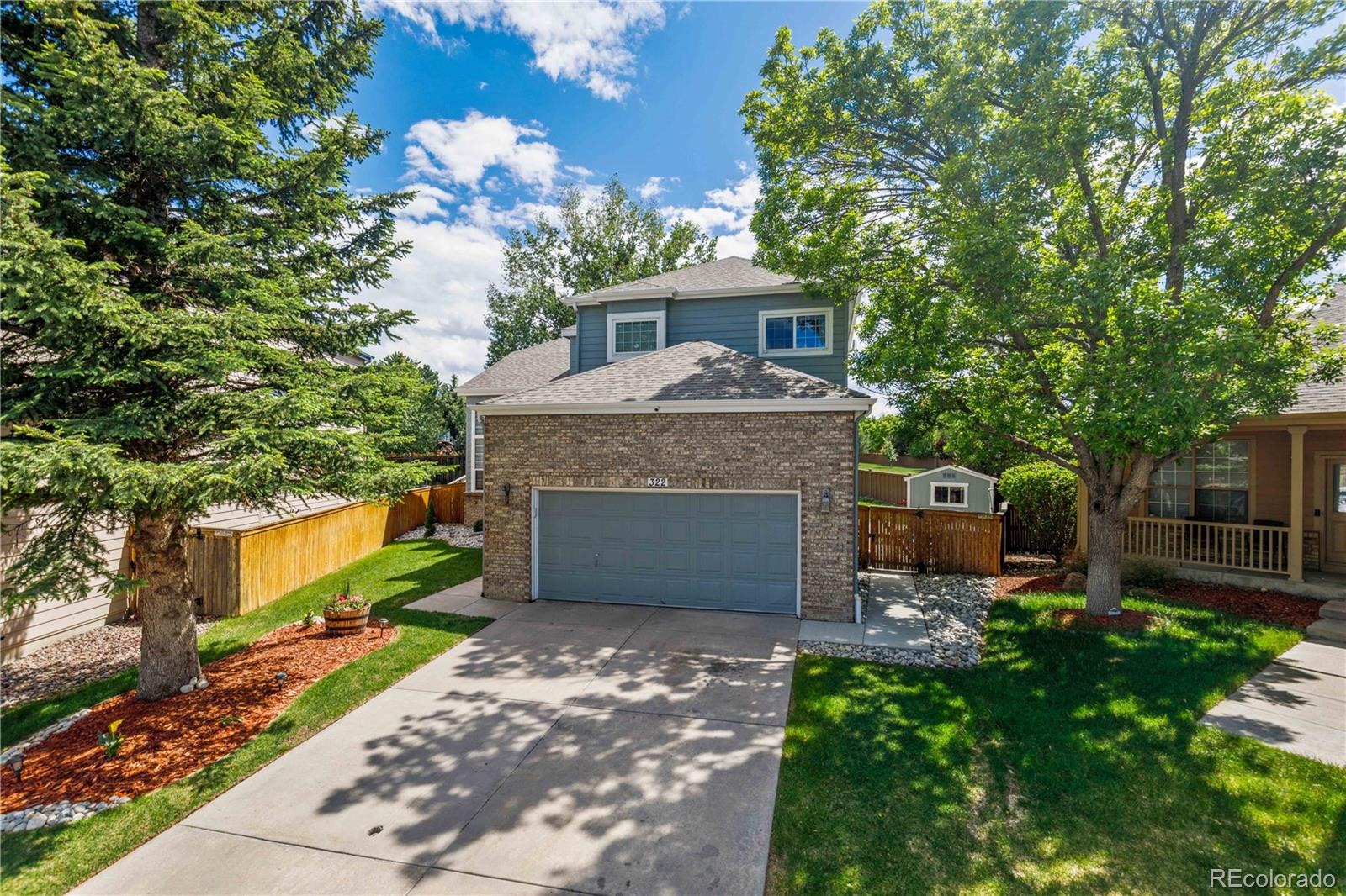 322 Florence Court Property Photo - Highlands Ranch, CO real estate listing