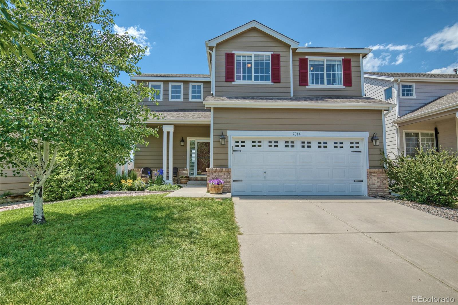 7044 Alcove Springs Drive Property Photo - Colorado Springs, CO real estate listing