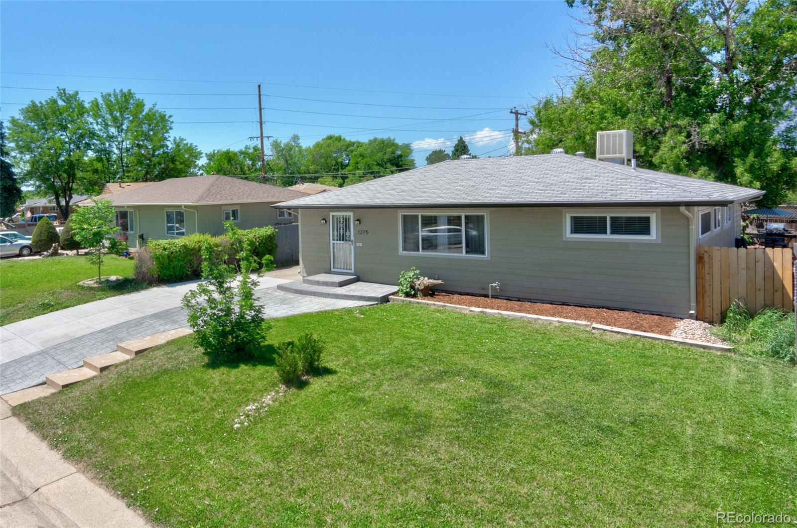 1275 S Vallejo Street Property Photo - Denver, CO real estate listing