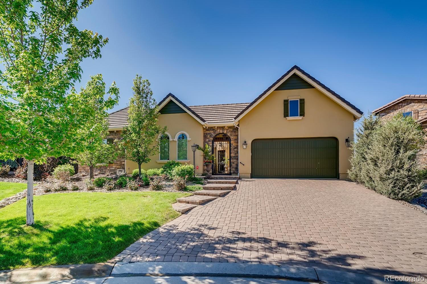 9509 Winding Hill Court Property Photo - Lone Tree, CO real estate listing