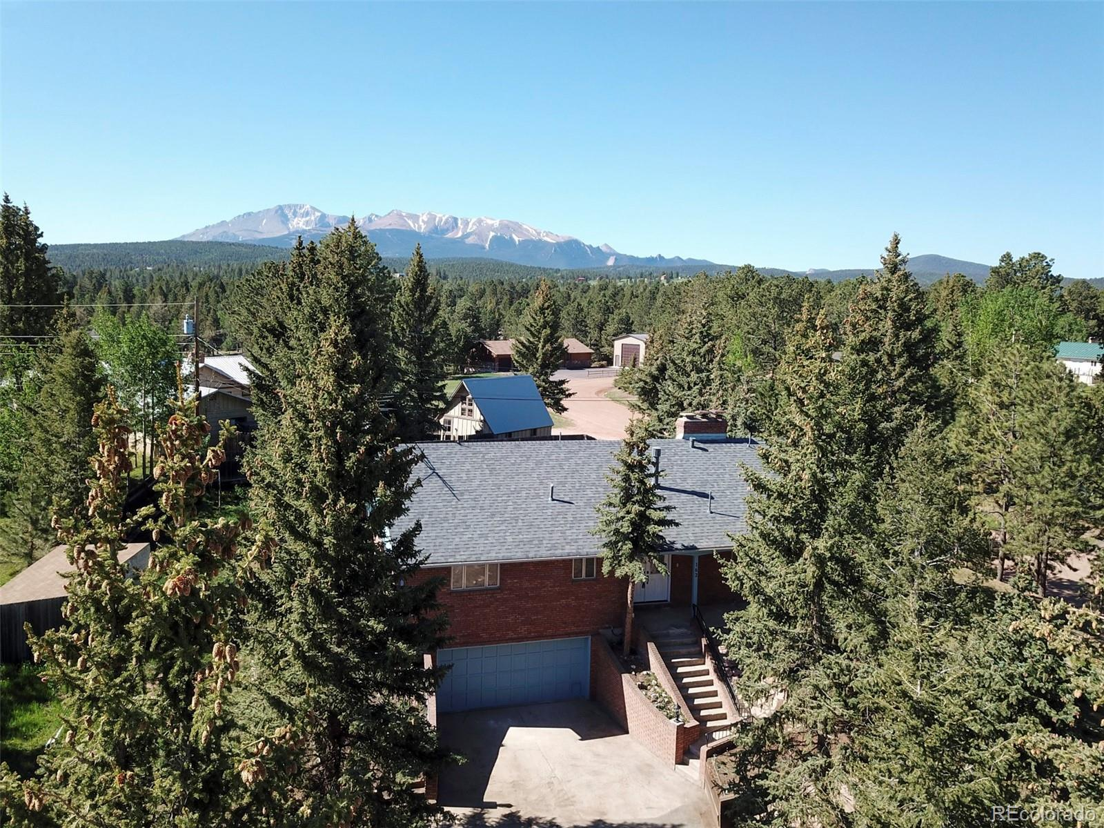 162 Piney Point Lane Property Photo - Woodland Park, CO real estate listing
