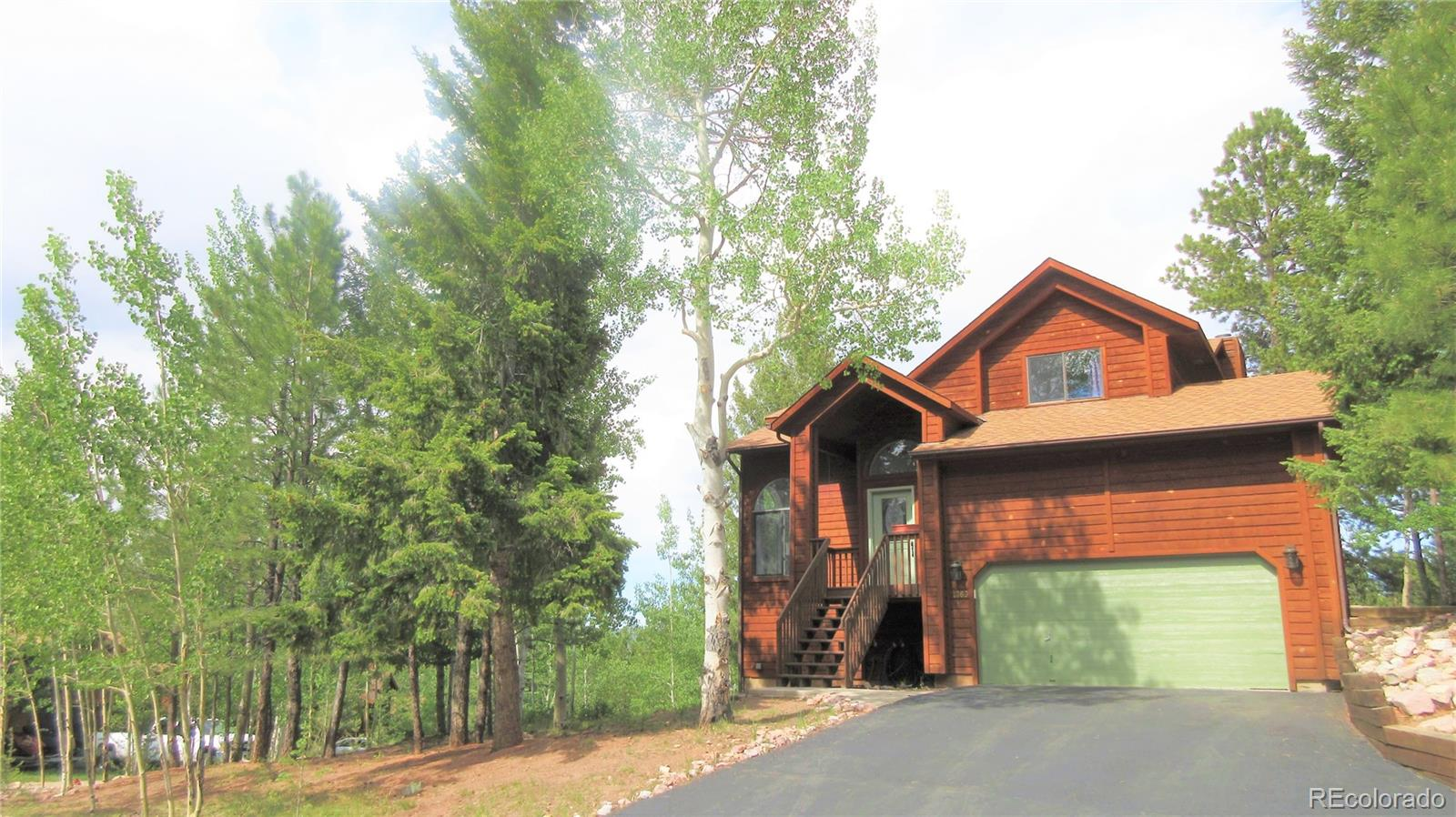 1360 Pinon Ridge Court Property Photo - Woodland Park, CO real estate listing