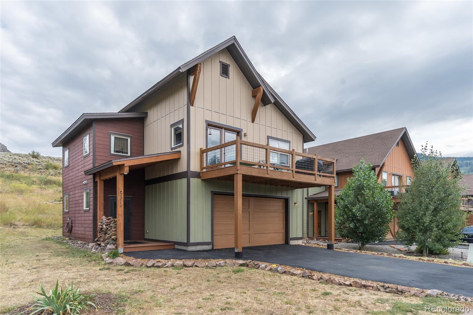 23550 Sagebrush Circle Property Photo - Oak Creek, CO real estate listing