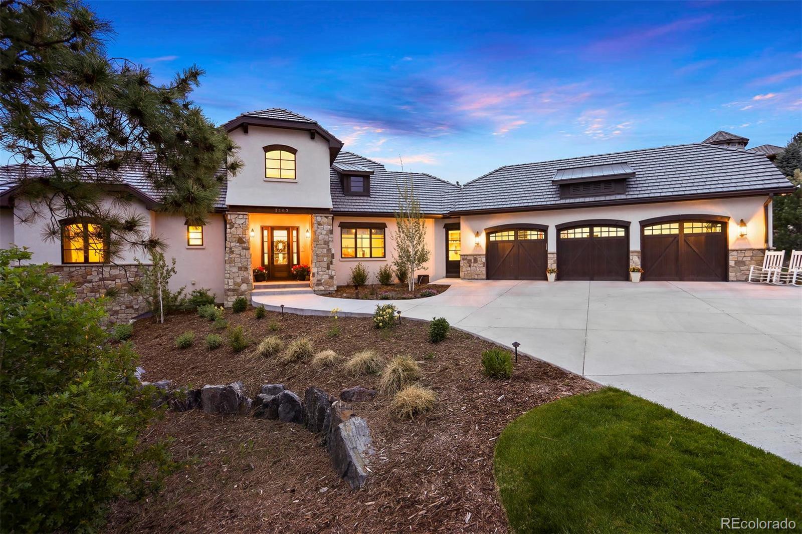 2163 Sierra Verde Court Property Photo - Castle Rock, CO real estate listing