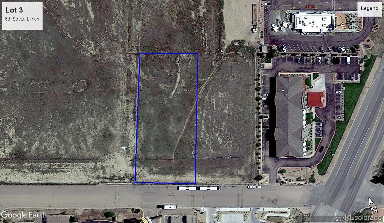 Lot 3 6th Street Property Photo - Limon, CO real estate listing