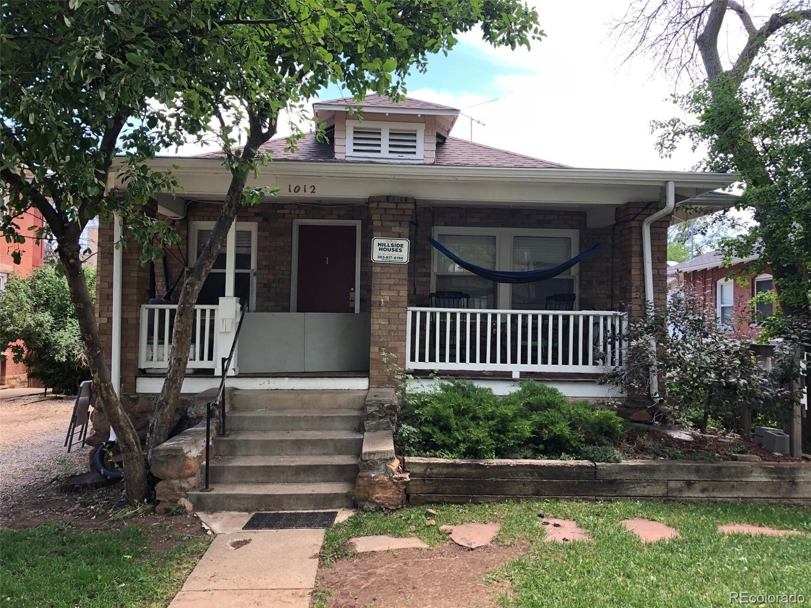 1012 15th Street Property Photo - Boulder, CO real estate listing