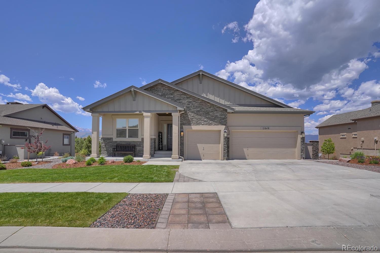 12849 Pensador Drive Property Photo - Colorado Springs, CO real estate listing