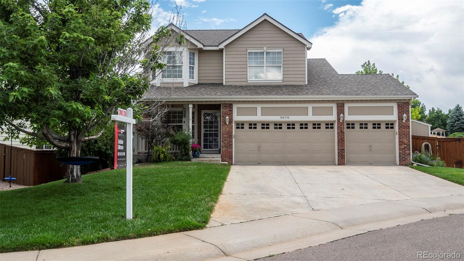 9070 Garnet Street Property Photo - Highlands Ranch, CO real estate listing
