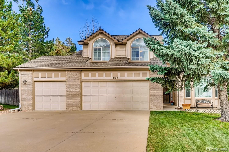 1408 Pinyon Drive Property Photo - Castle Rock, CO real estate listing