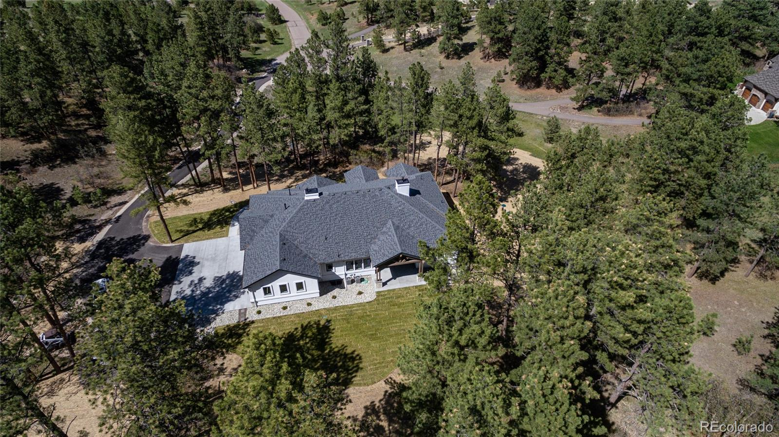 245 S Big Meadow Trail Property Photo - Franktown, CO real estate listing