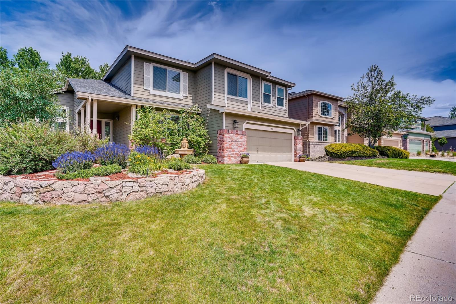 6601 Millstone Place Property Photo - Highlands Ranch, CO real estate listing