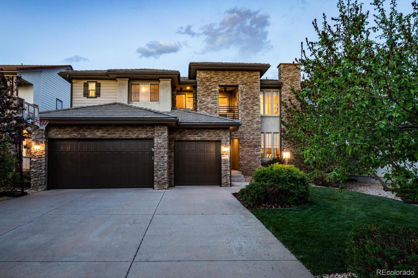 9690 Sunset Hill Drive Property Photo - Lone Tree, CO real estate listing