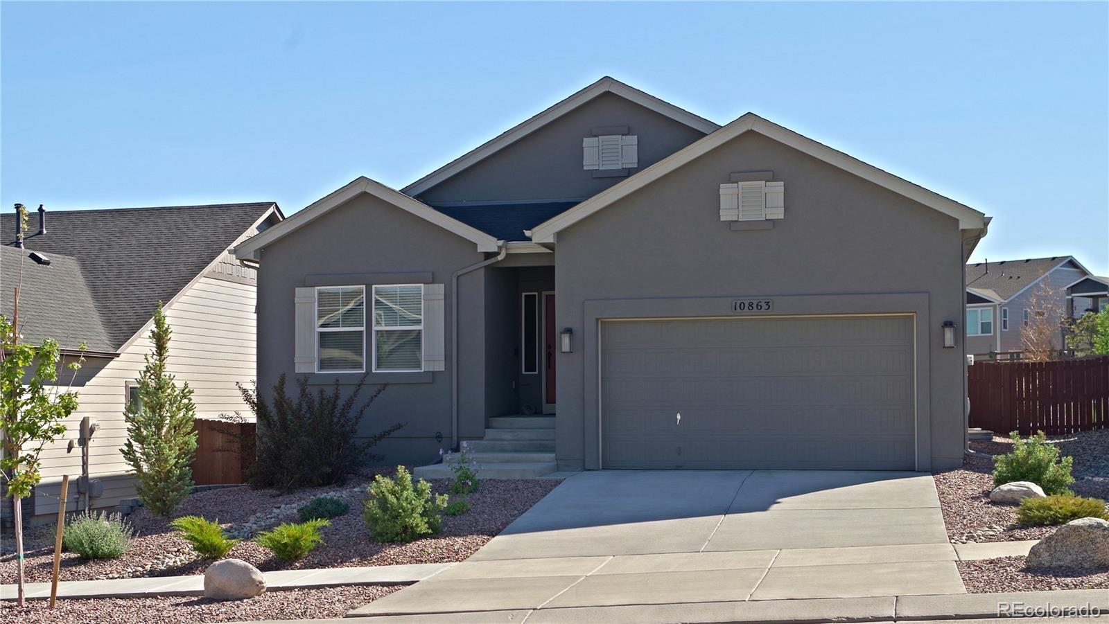 10863 Warm Sunshine Drive Property Photo - Colorado Springs, CO real estate listing