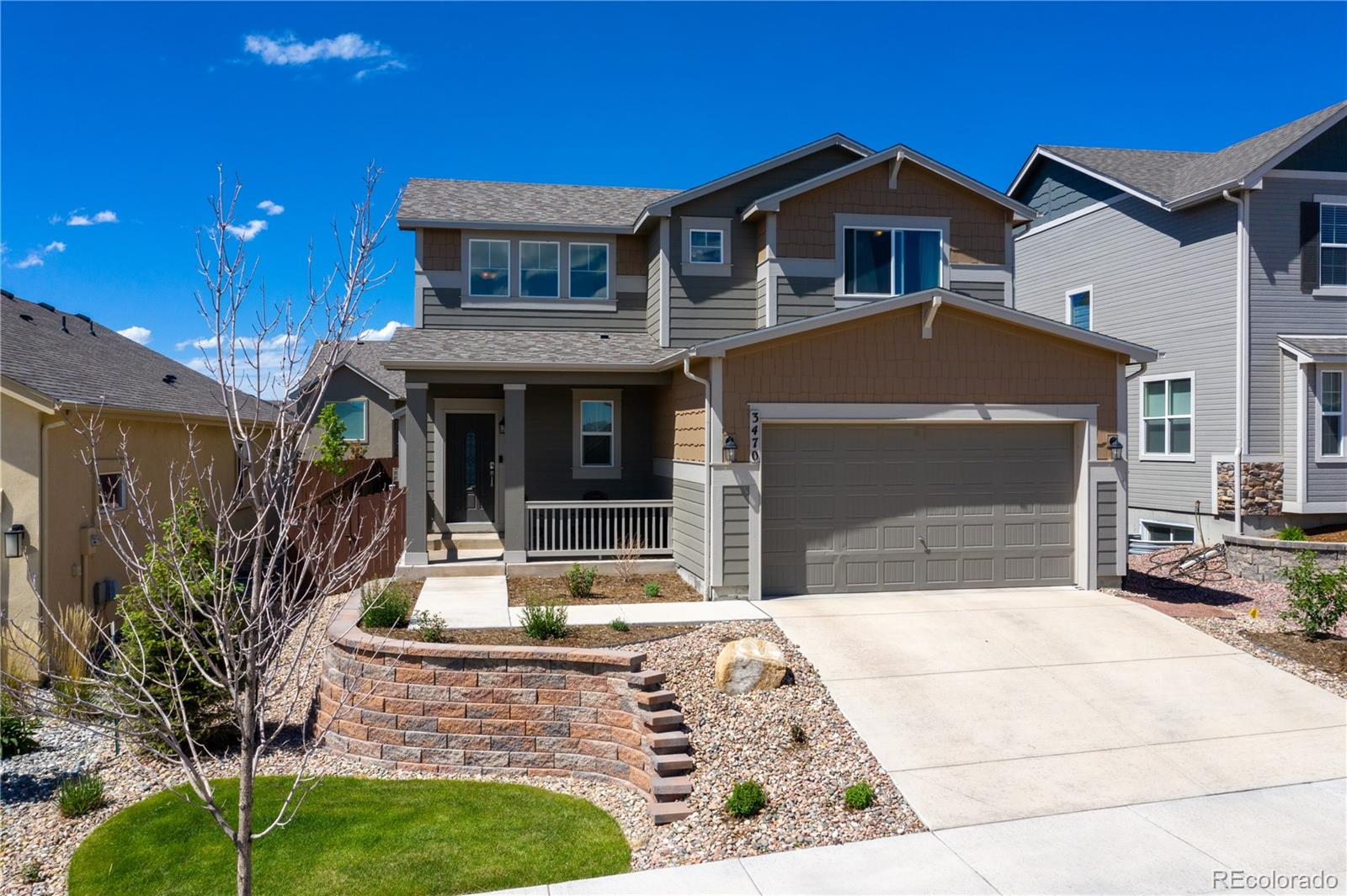 3470 Daydreamer Drive Property Photo - Colorado Springs, CO real estate listing