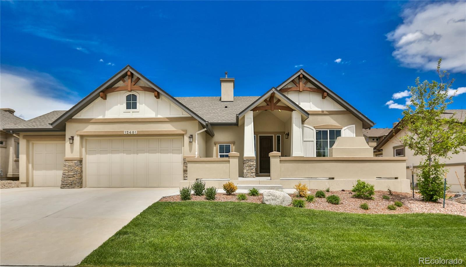 12481 Cloudy Bay Drive Property Photo - Colorado Springs, CO real estate listing