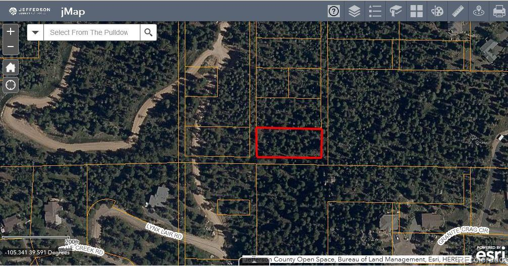 Lot 28 Property Photo - Evergreen, CO real estate listing