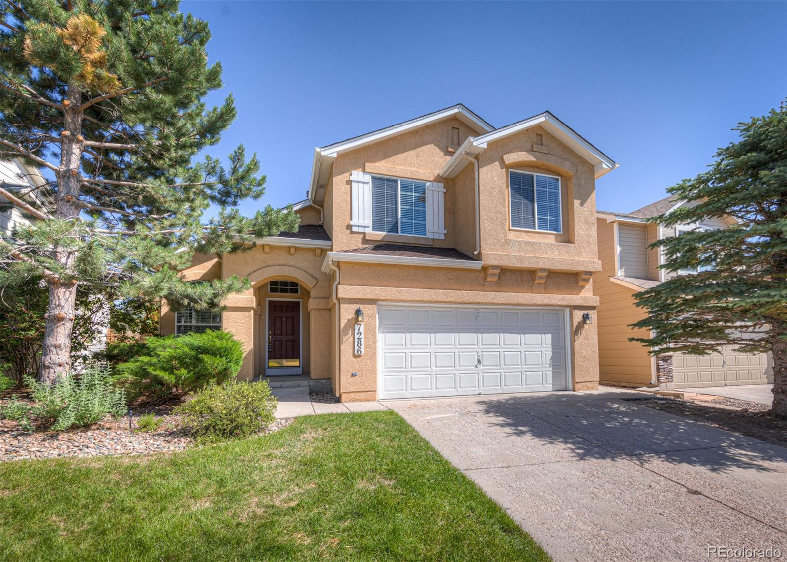 7286 Grand Prairie Drive Property Photo - Colorado Springs, CO real estate listing