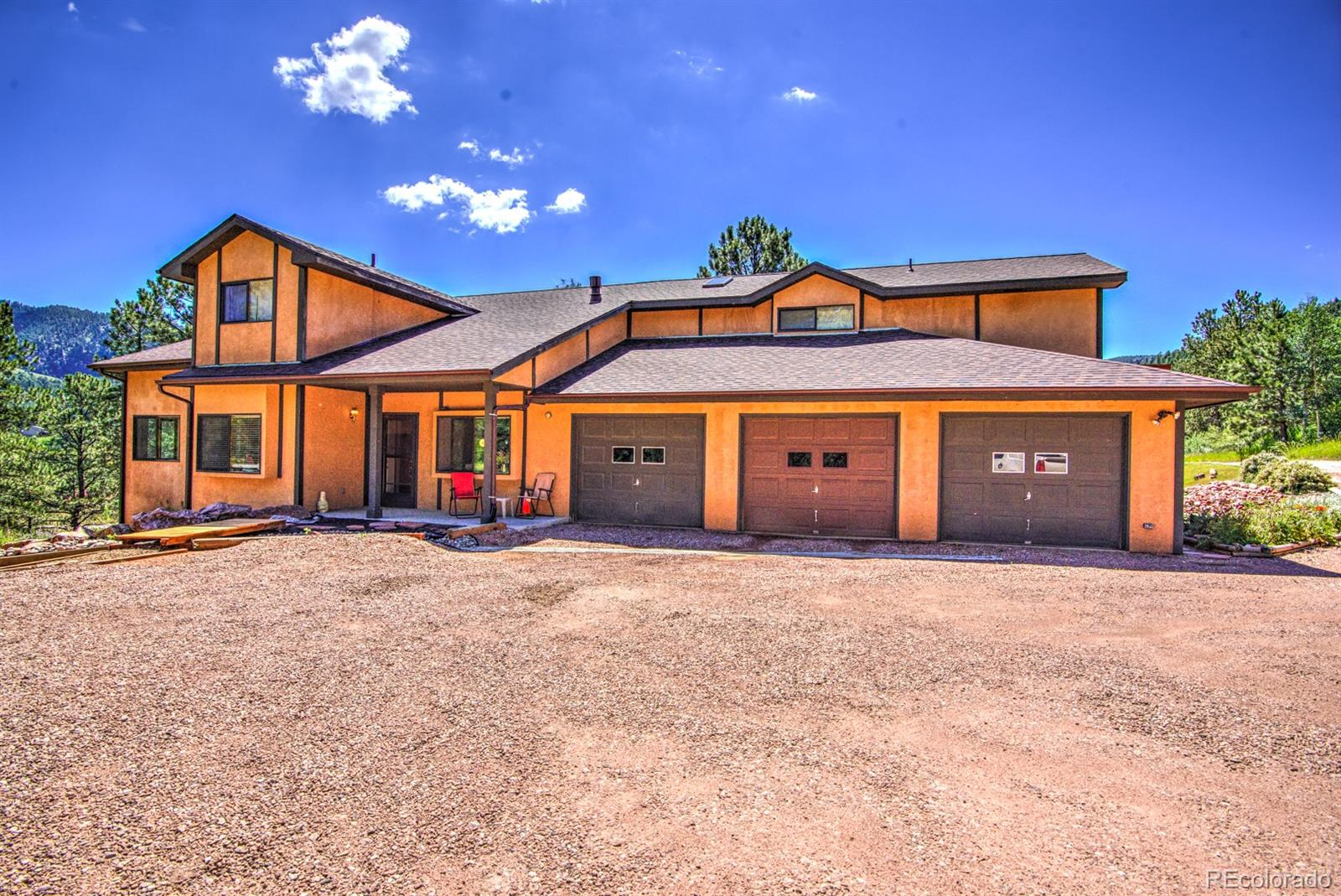 391 Creek Side Drive Property Photo - Woodland Park, CO real estate listing