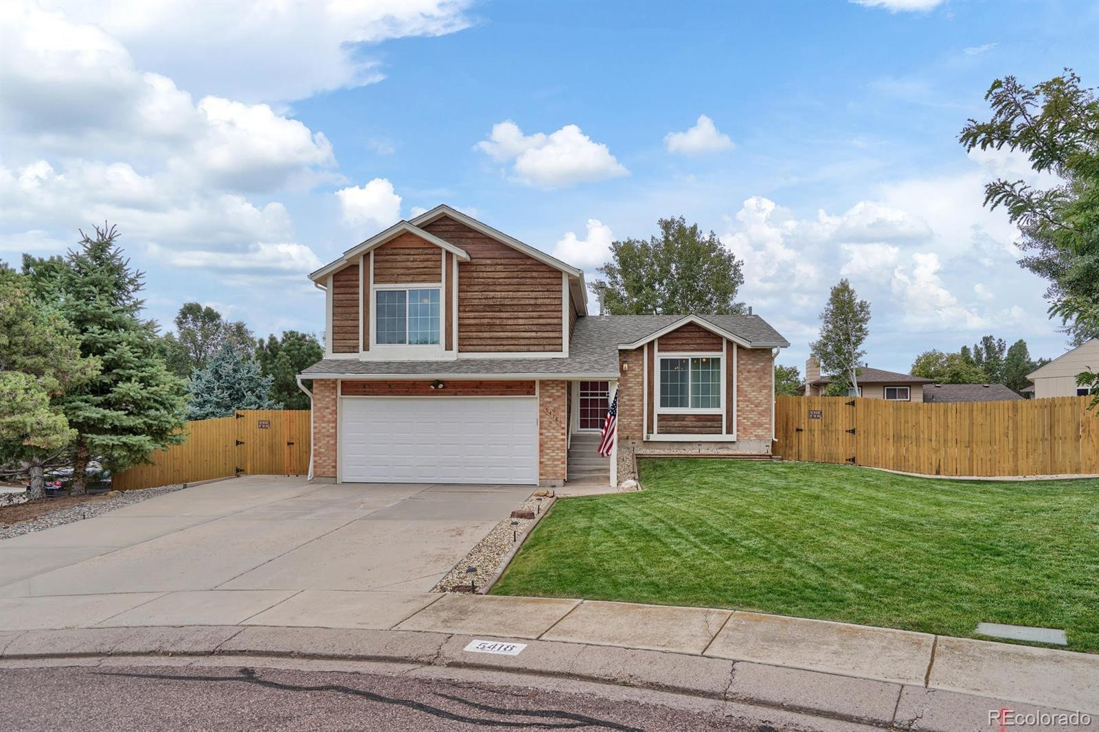 5418 Pinon Valley Road Property Photo - Colorado Springs, CO real estate listing