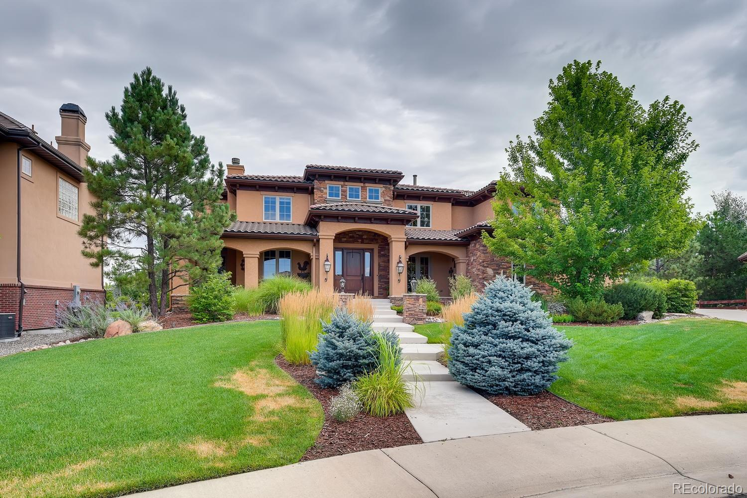 9644 Silent Hills Lane Property Photo - Lone Tree, CO real estate listing