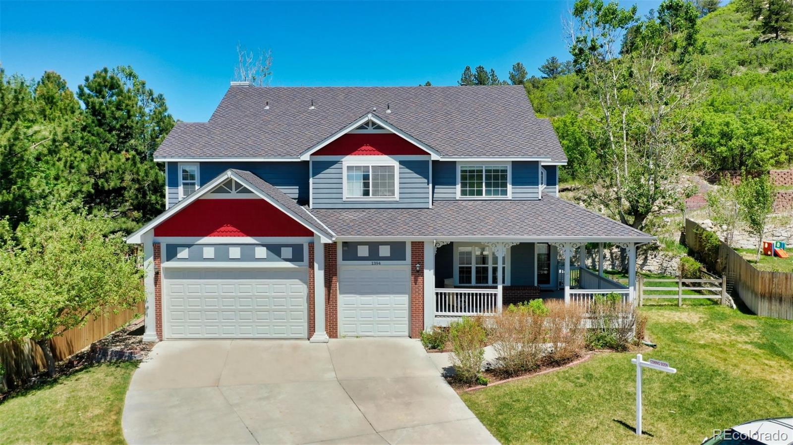 1394 Whitetail Drive Property Photo - Castle Rock, CO real estate listing