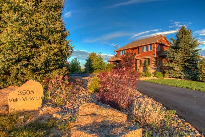 3505 Vale View Lane Property Photo - Mead, CO real estate listing