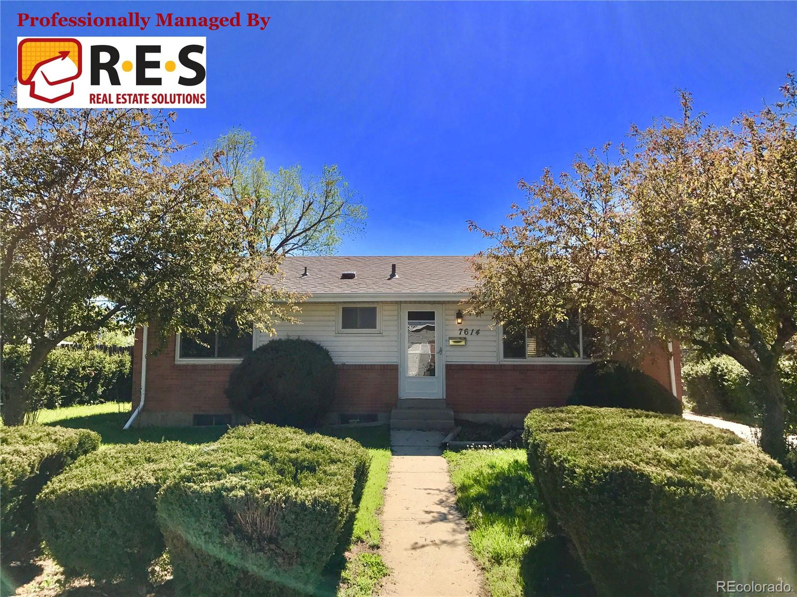 7614 Heather Place Property Photo - Denver, CO real estate listing