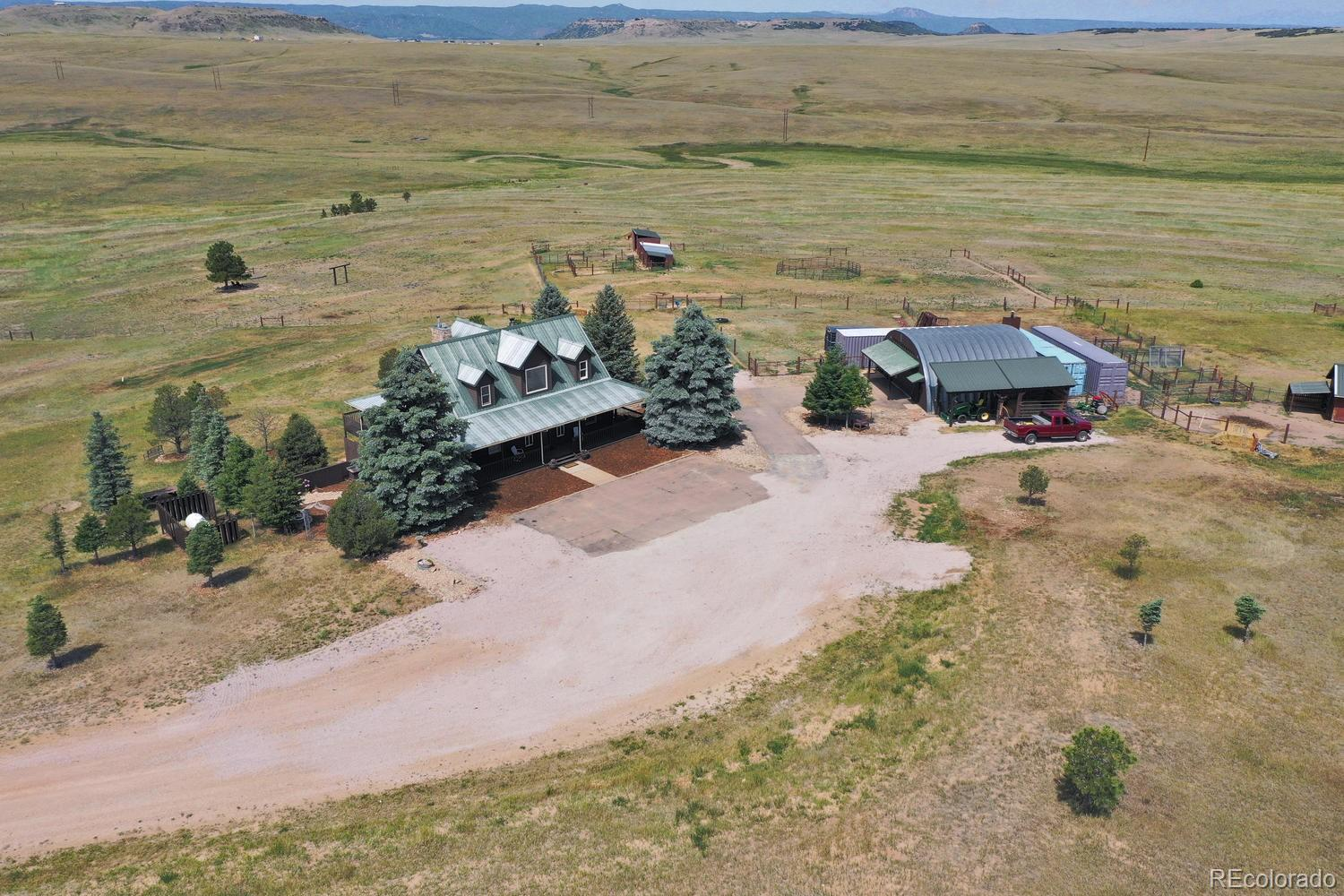 7702 E Greenland Road Property Photo - Franktown, CO real estate listing