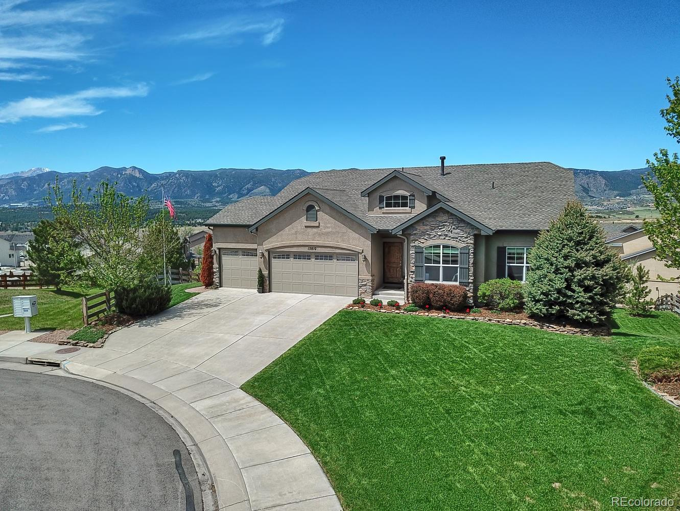 15810 Bridle Ridge Drive Property Photo - Monument, CO real estate listing