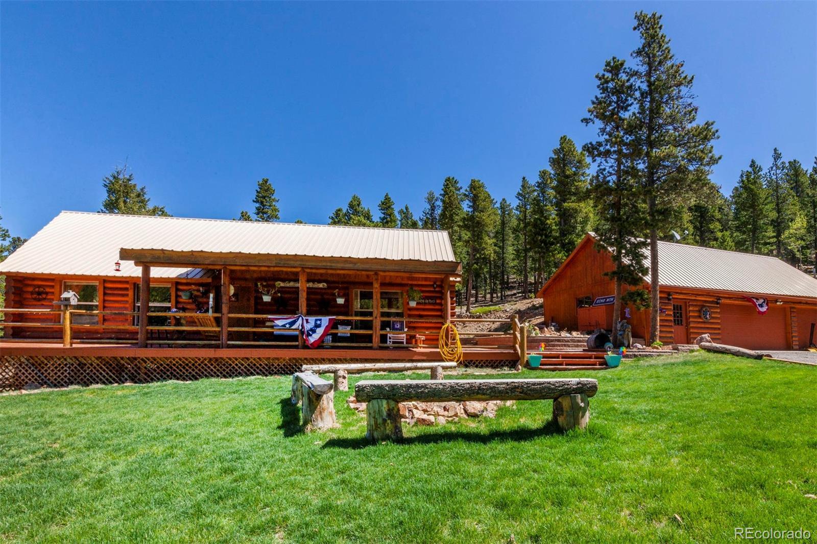 1500 Little Bear Creek Road Property Photo - Idaho Springs, CO real estate listing