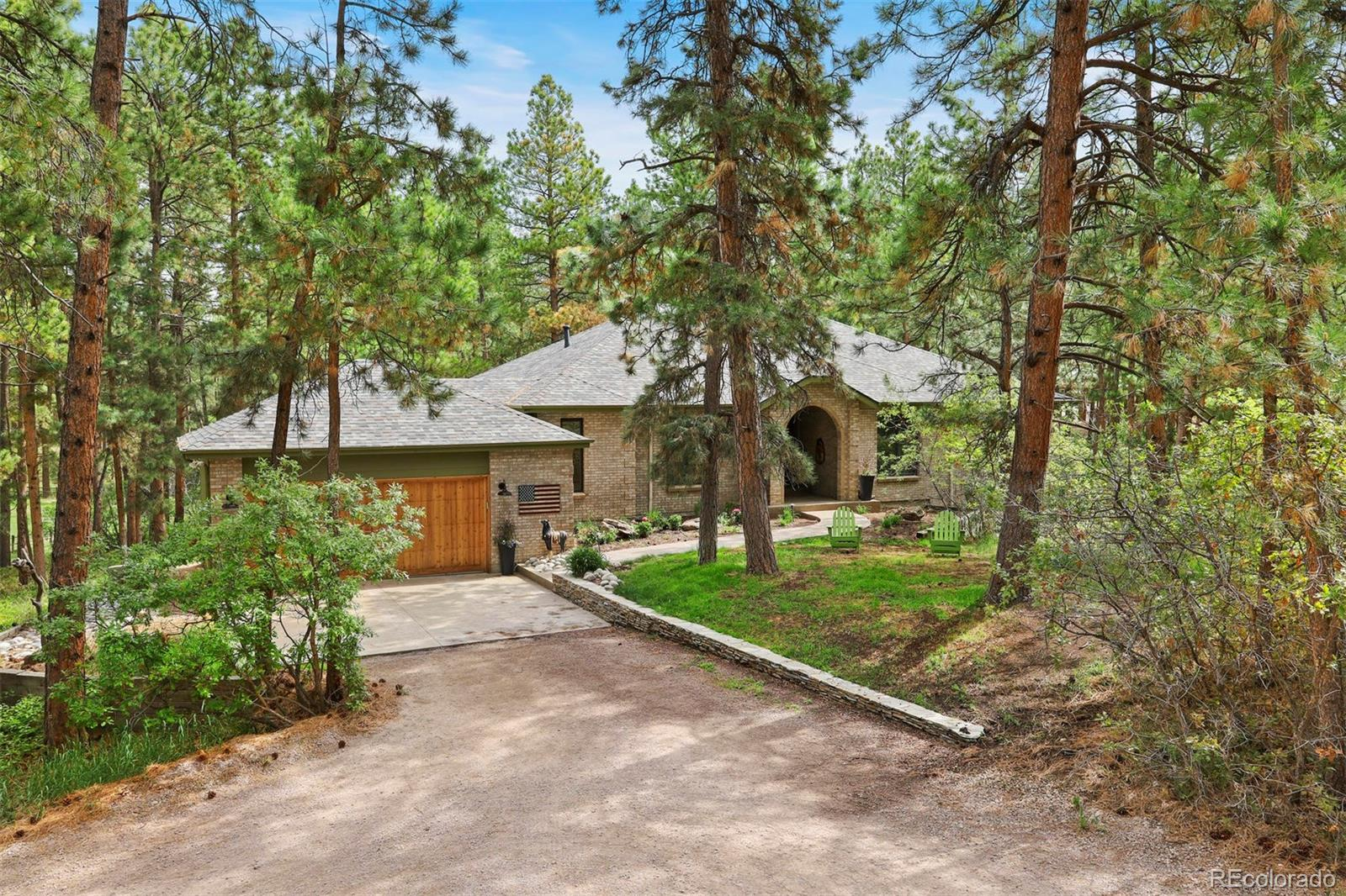 661 Nob Hill Trail Property Photo - Franktown, CO real estate listing