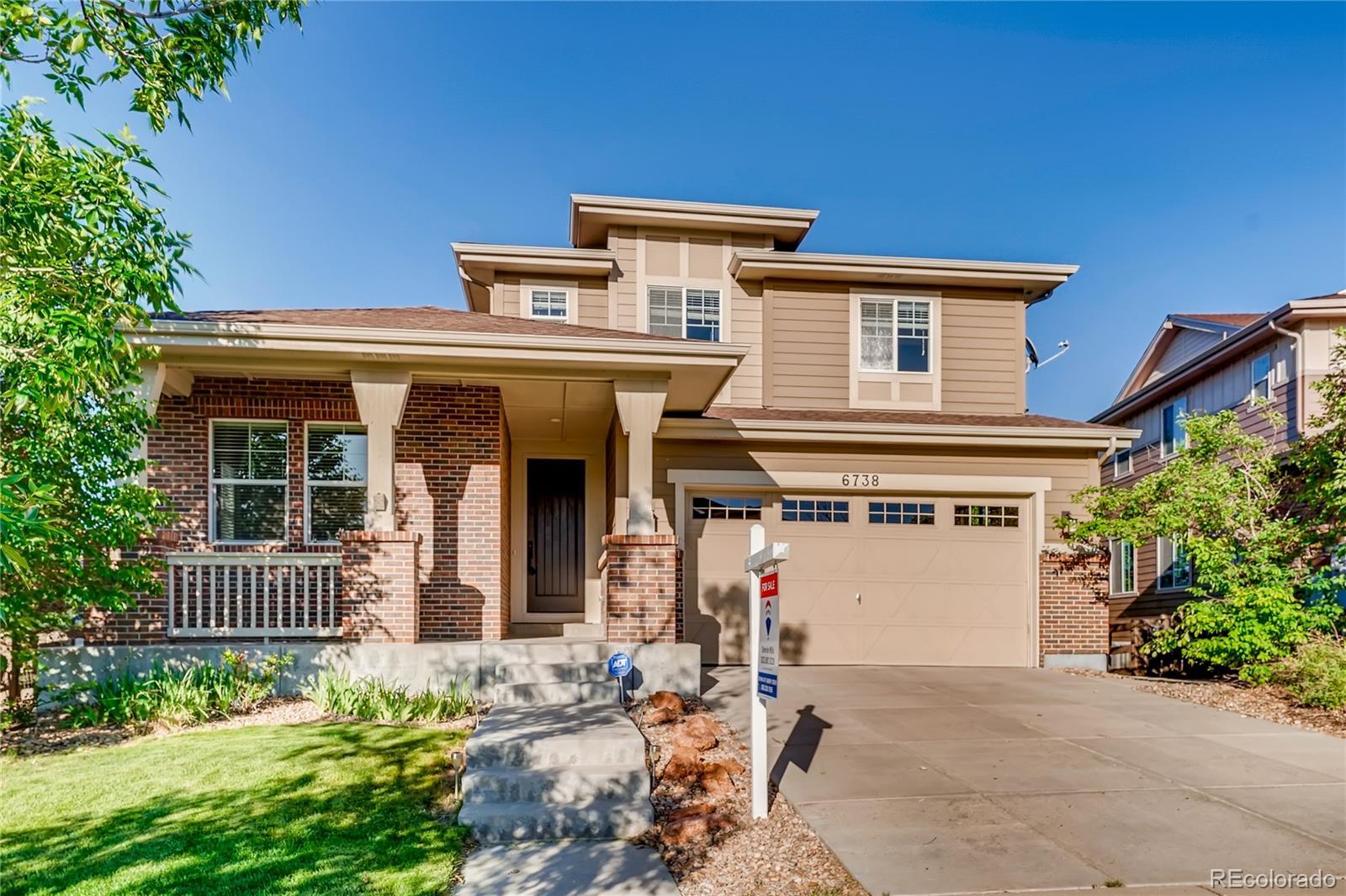 6738 S Riverwood Way Property Photo - Aurora, CO real estate listing
