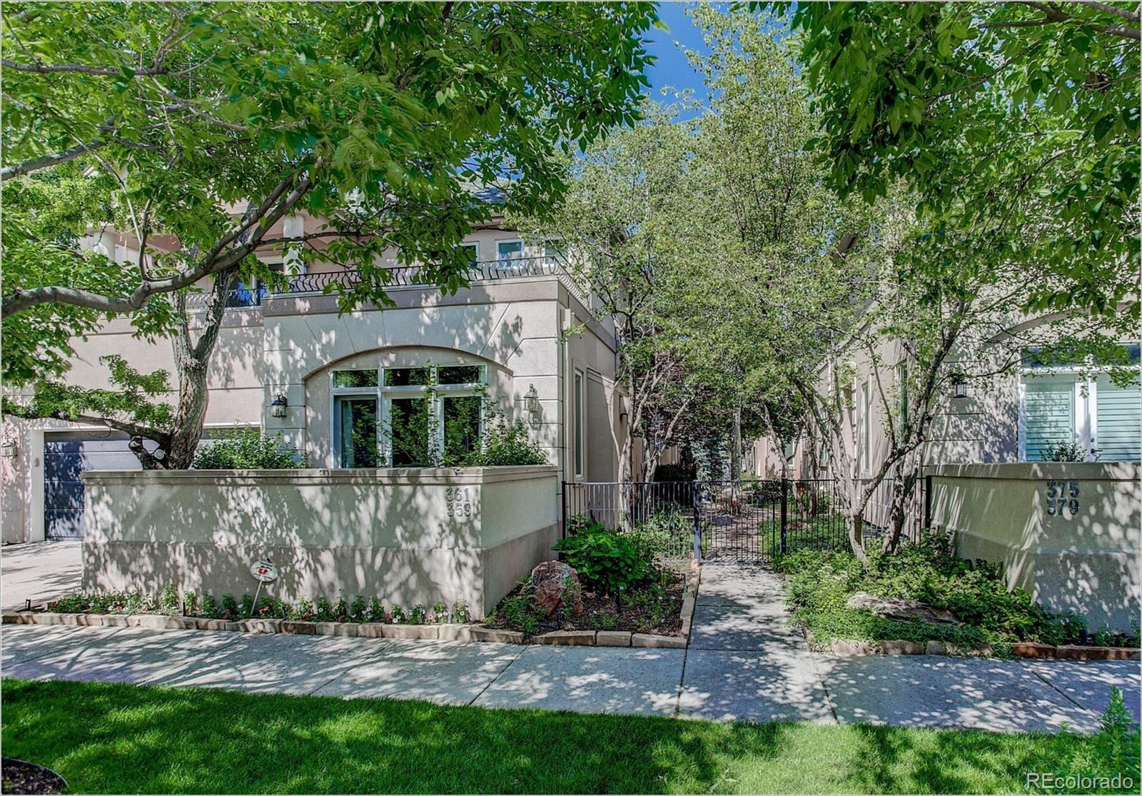 359 Detroit Street Property Photo - Denver, CO real estate listing