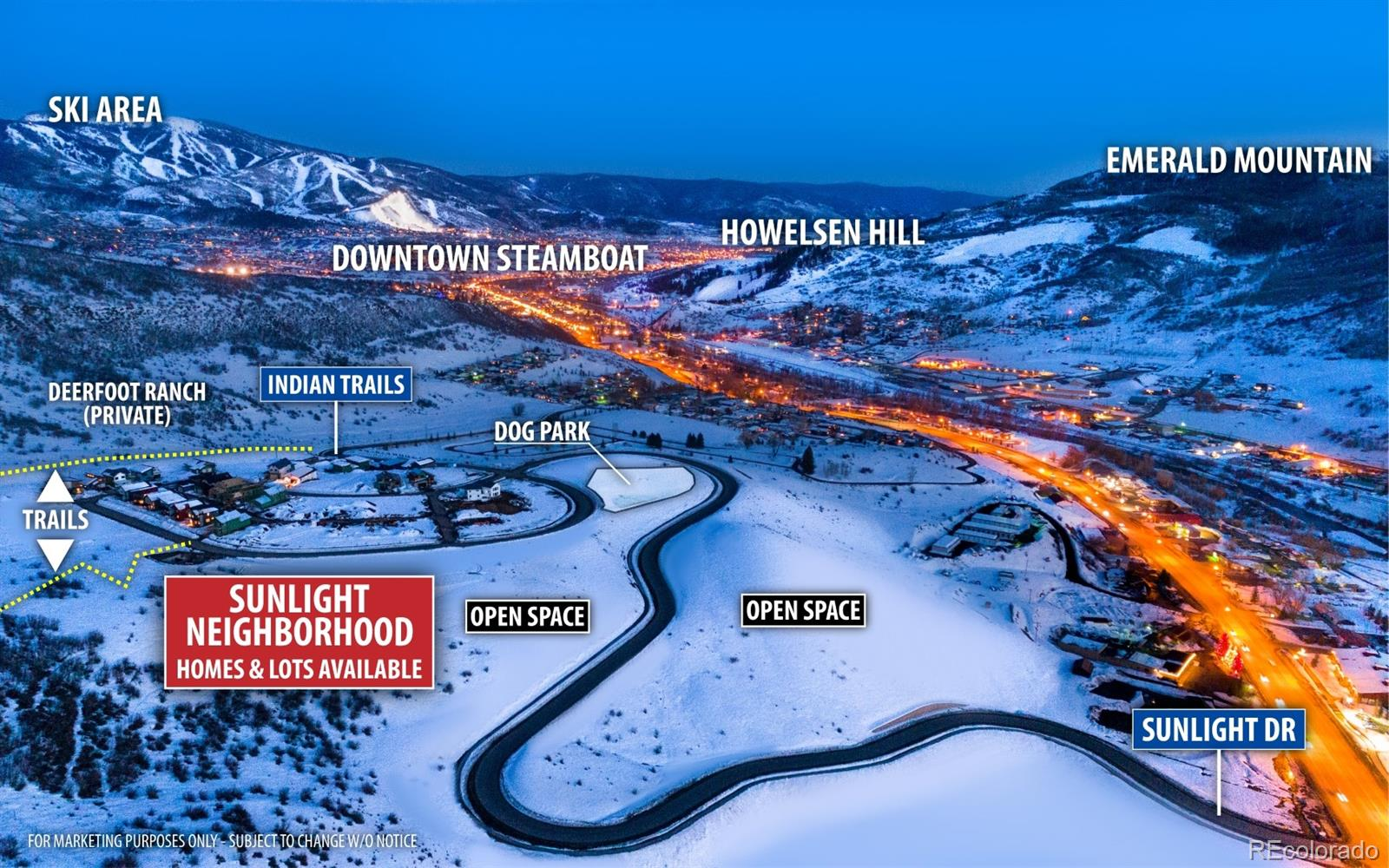 1922 Indian Trails Property Photo - Steamboat Springs, CO real estate listing