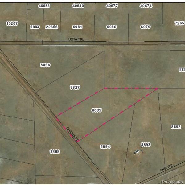 Chicha Road Property Photo - Hartsel, CO real estate listing